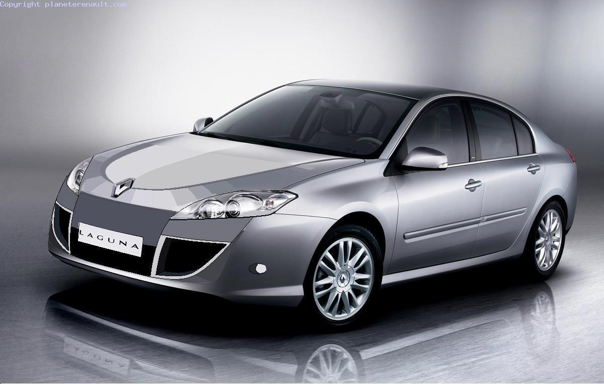 Новая Renault Laguna.