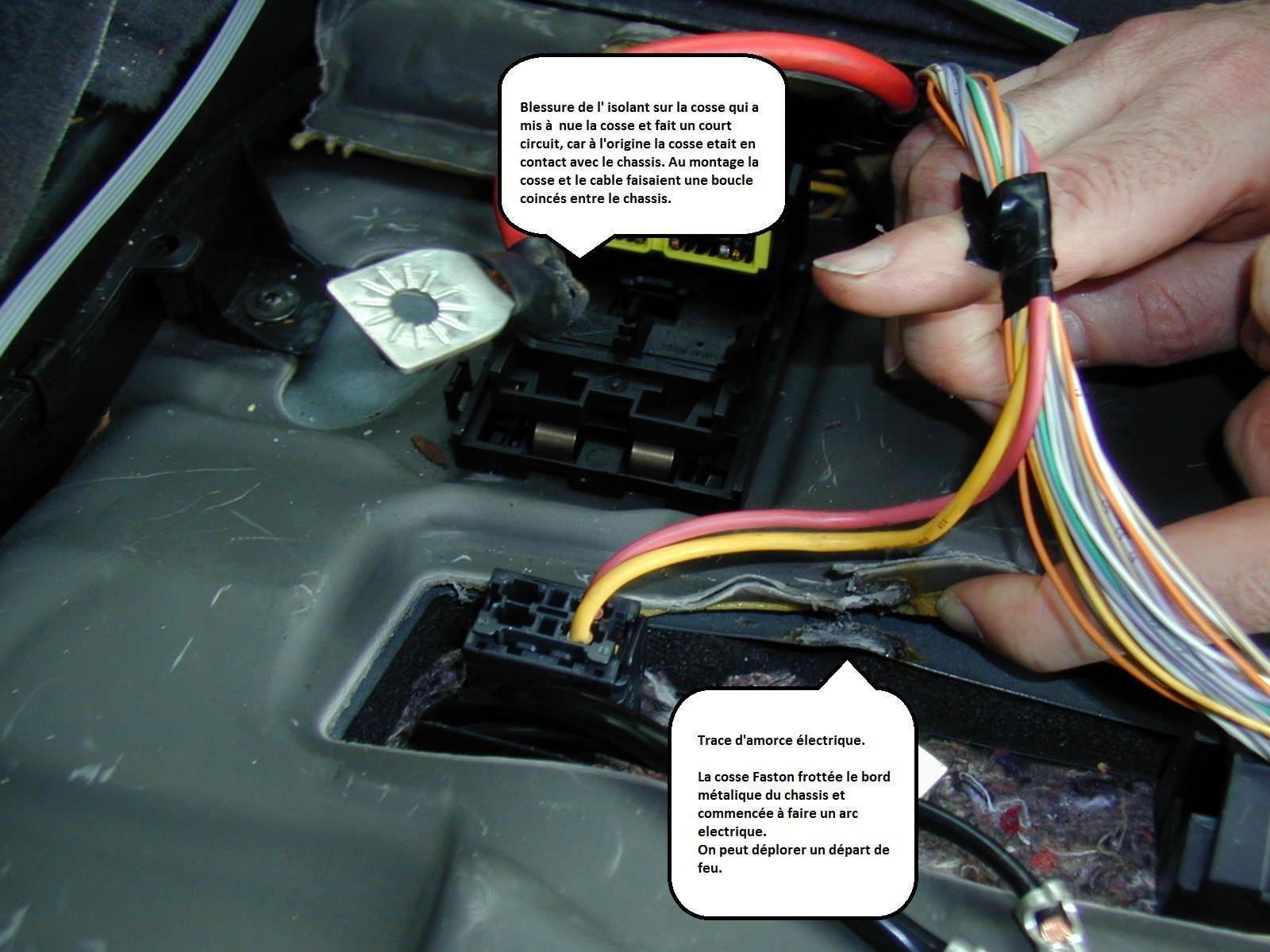 Espace iv sieges electriques immobiles r solu r gl p0 plan te renault - Probleme electrique maison court circuit ...