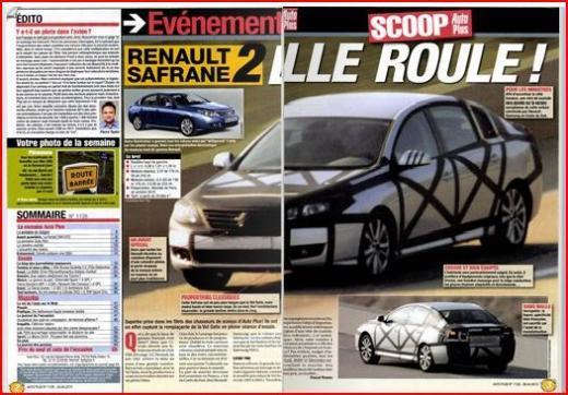 2010 - [Renault] Latitude [L43] - Page 12 Safrane