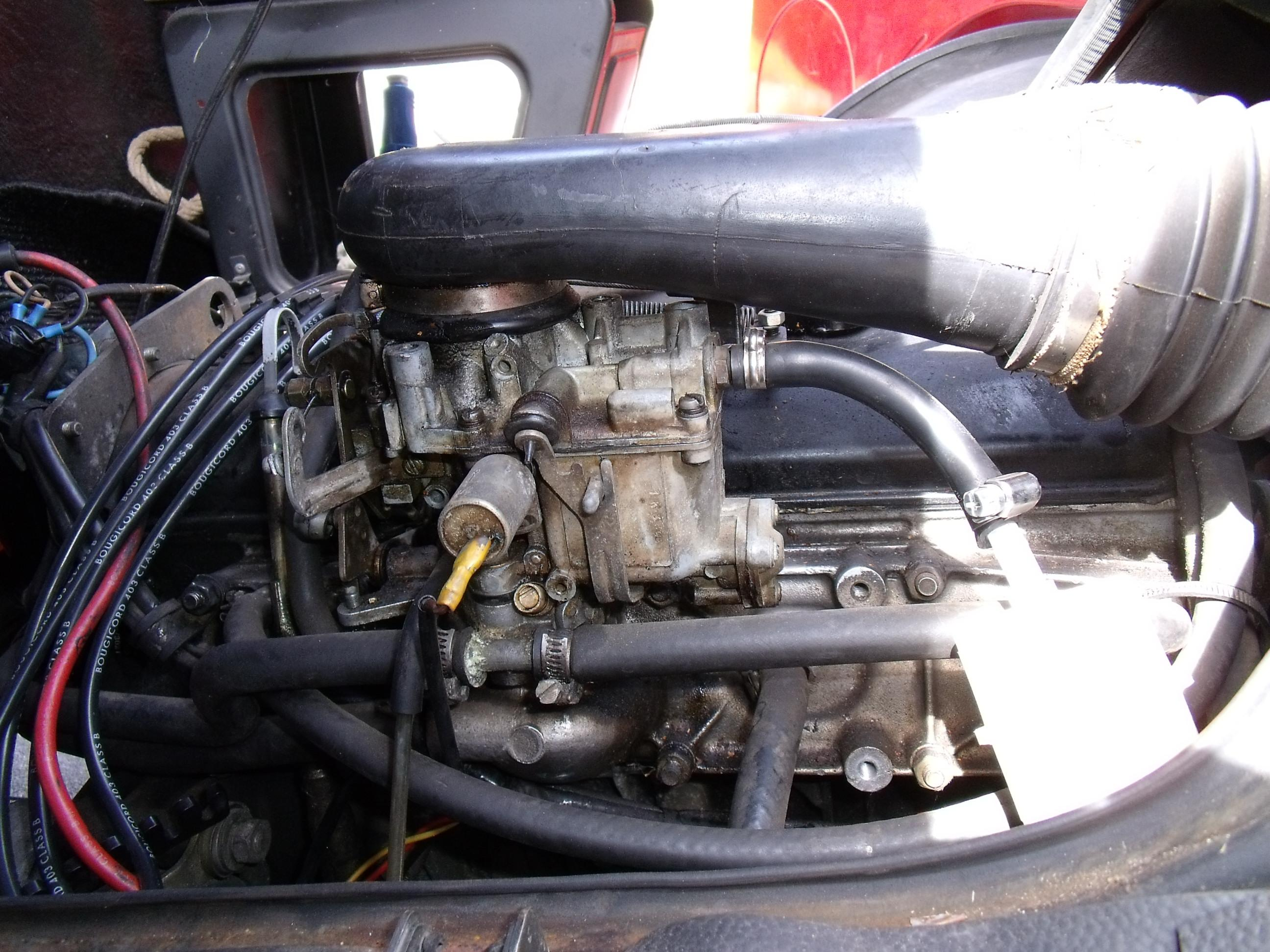 carburateur solex renault master
