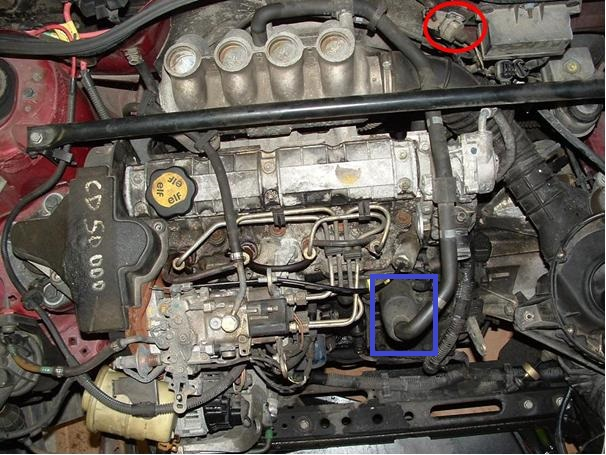 Clio I Perte D Huile Moteur 1 9 D Clio 1994 Regle P0
