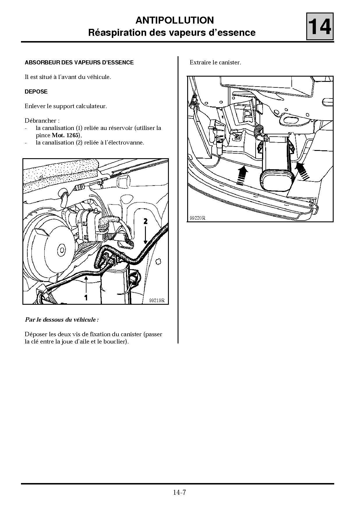 sc nic i moteur qui cale en roulant p0 plan te renault. Black Bedroom Furniture Sets. Home Design Ideas