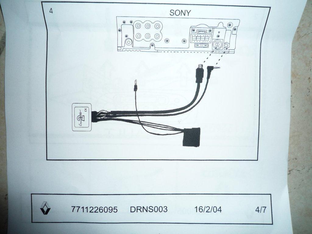 M U00e9gane Ii Tuto   Pose Autoradio Sony Cdx-gt640ui   Interface Affichage -p0