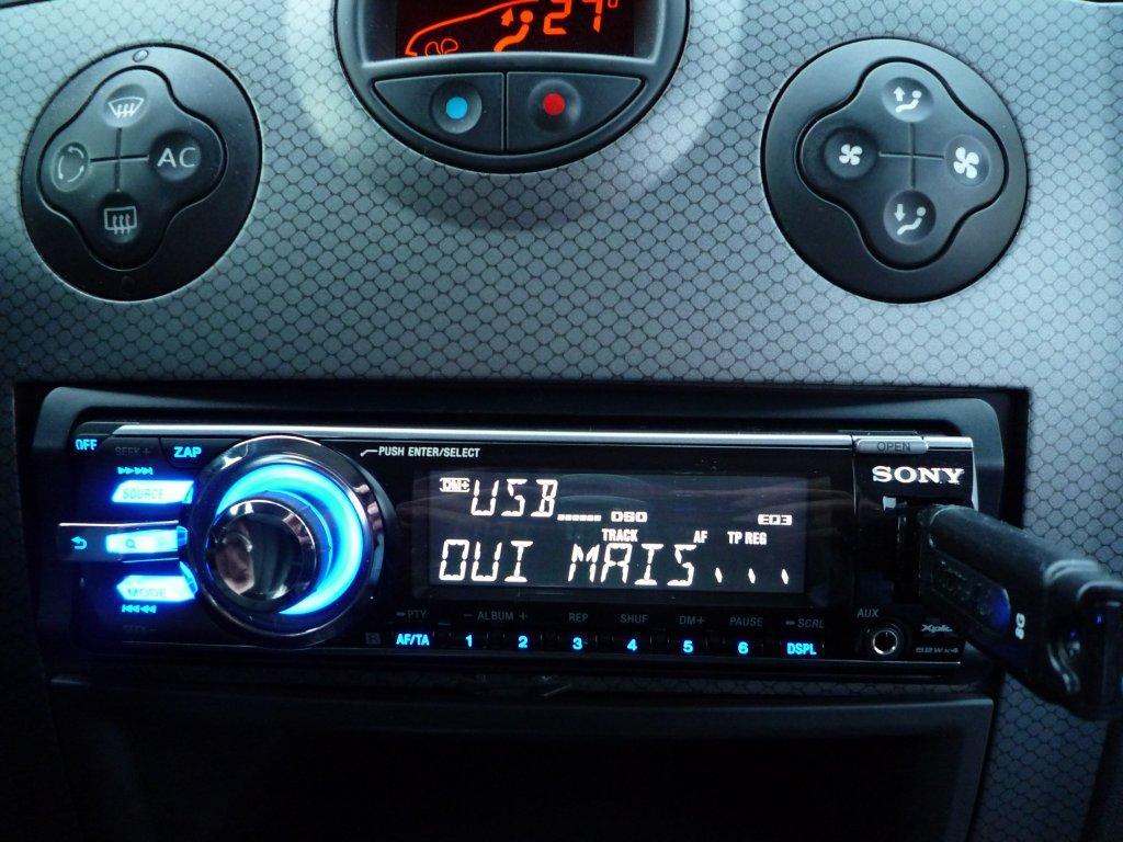 Mégane II] Tuto : pose autoradio sony cdx-gt640uI + interface ...