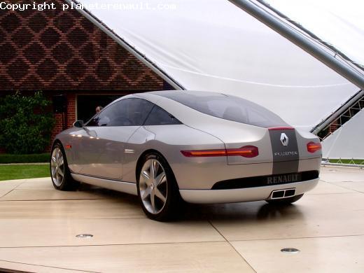 concept car z16 un coup haut de gamme p90 plan te renault. Black Bedroom Furniture Sets. Home Design Ideas