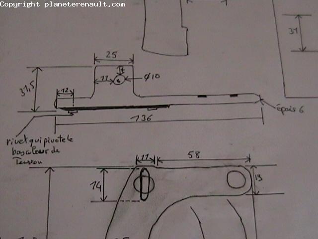 outil de calage distribution renault 2 2 dci. Black Bedroom Furniture Sets. Home Design Ideas