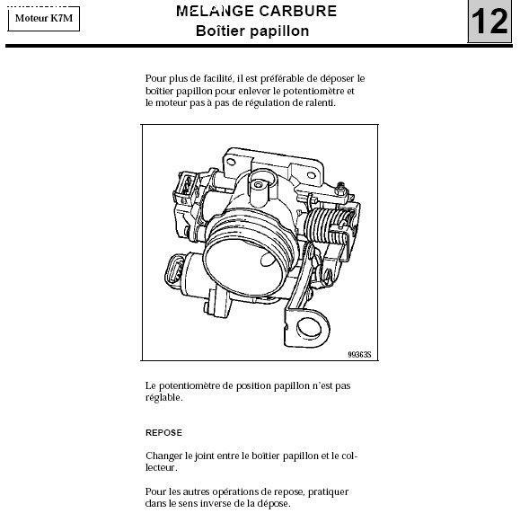 clio ii ralenti instable sur moteur essence p0. Black Bedroom Furniture Sets. Home Design Ideas